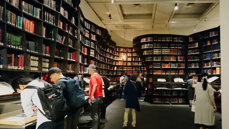 世界を変えた書物展_展示室